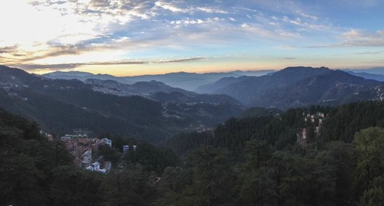 The Oberoi Cecil, Shimla: the view down the valley