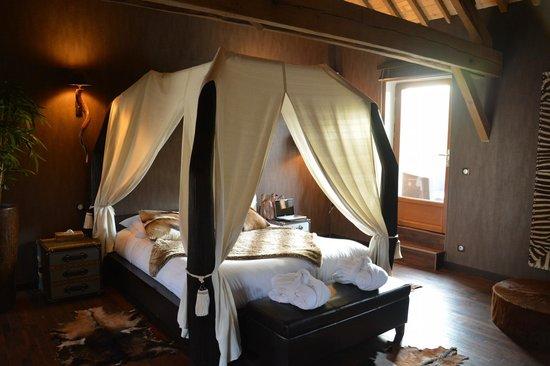 Lit de la chambre lodge photo de le clos des vignes neuville bosc tripadvisor - Le clos des vignes neuville bosc ...