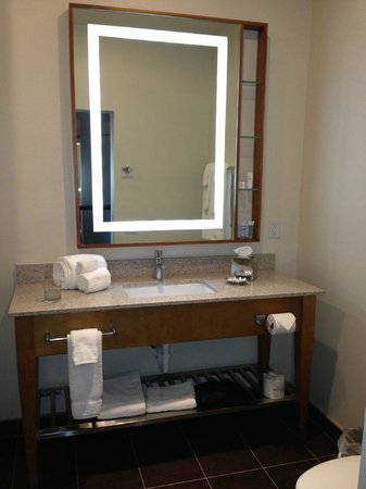 Bathroom picture of wyndham garden san antonio riverwalk - Wyndham garden san antonio riverwalk ...