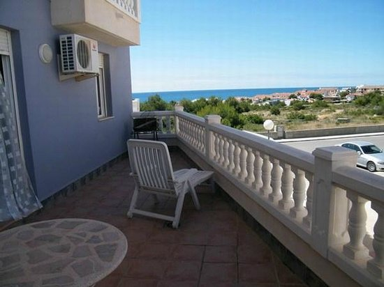 Apartamentos Alcocebre-Marcolina : Terraza