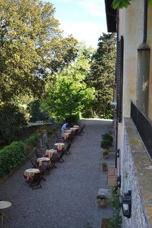 Villa il Poggiale Dimora Storica: Al Fresco Dining