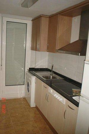 Apartamentos Alcocebre-Marcolina: Cocina