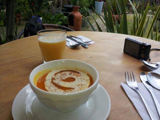 Mercado Municipal : La sopa de calabaza y canela