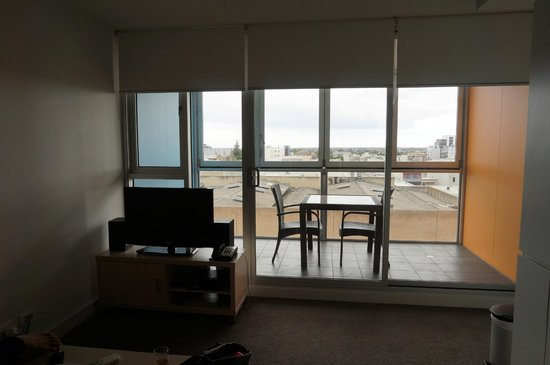 iStay Precinct: Living room and view