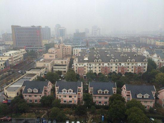 Jinling Garden Hotel Taicang : Вид из окна