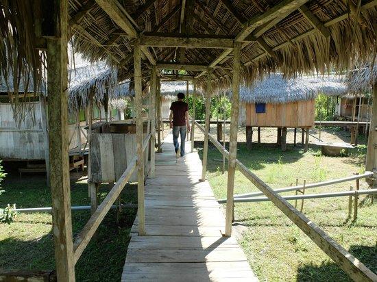Libertad Jungle Lodge: les chambres