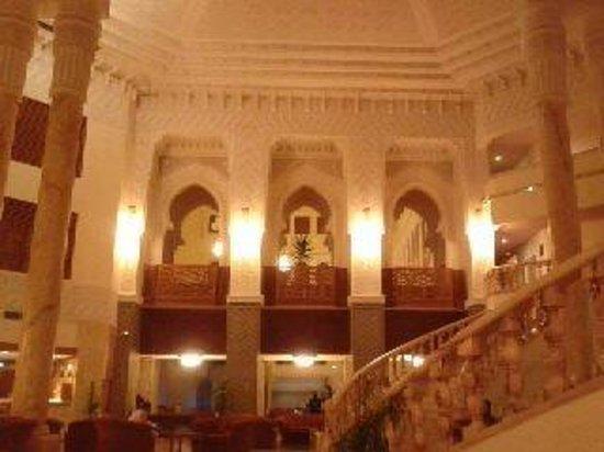 Amir Palace: the foyer