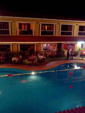 Casa De Goa Boutique Resort : Valentine night
