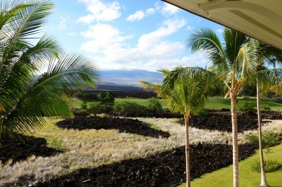 Kings' Land by Hilton Grand Vacations: View from 3rd fl lanai.