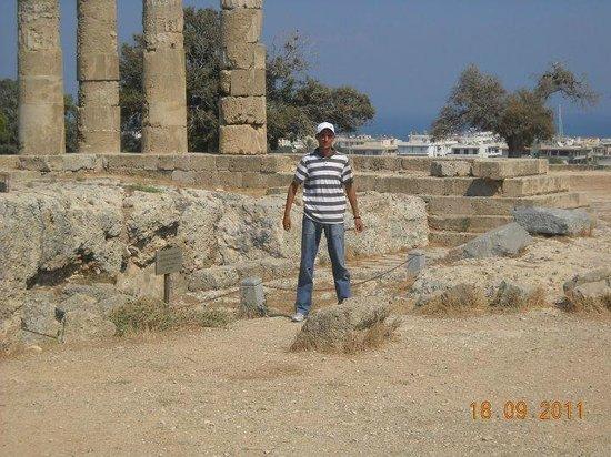 The Acropolis of Rhodes : Ακροπολη ροδου