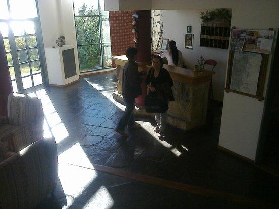 Antigua Patagonia: La recepcion