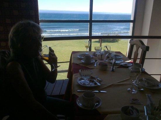 Antigua Patagonia: Desayunando