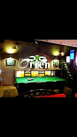 Orient Restaurant & Cafe Bar : Pool table