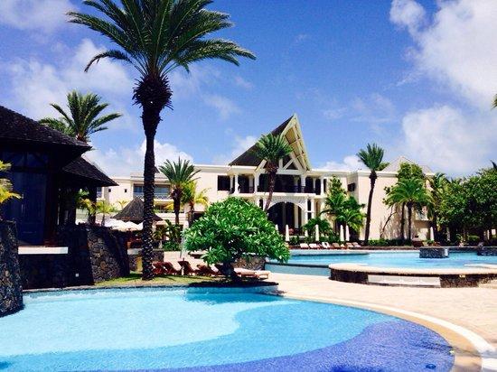 The Residence Mauritius: Vu de la plage