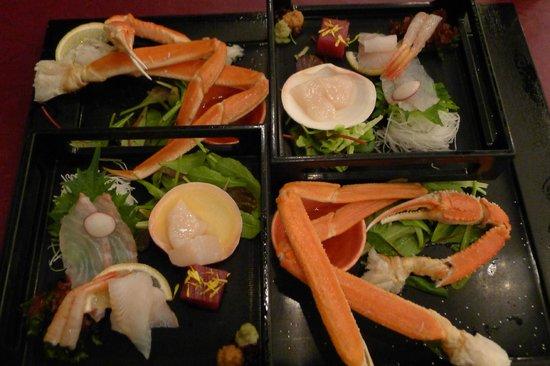 Hotel Kanro no Mori : Set dinner
