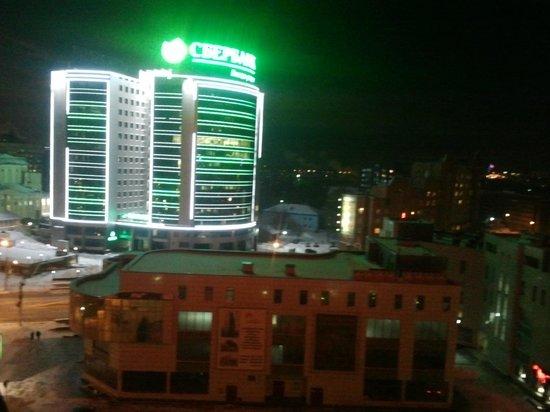 Azimut Hotel Siberia: Очень яркий и мигающий сбербанк мешал спать