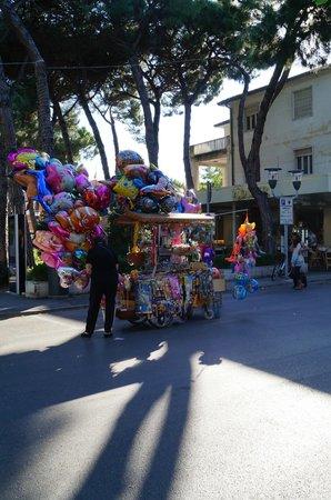 Hotel Vittoria: улицы риччоне