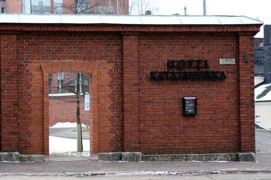 Hotel Katajanokka : The old gate to the prison