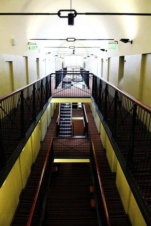 Hotel Katajanokka : Incredibly cool view, corridor