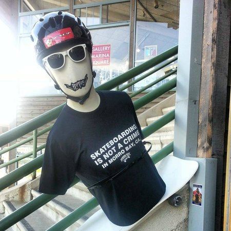 Morro Bay Skateboard Museum: Entry to the Museum