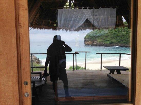 Jeeva Beloam Beach Camp: View from the new Beruga No.11