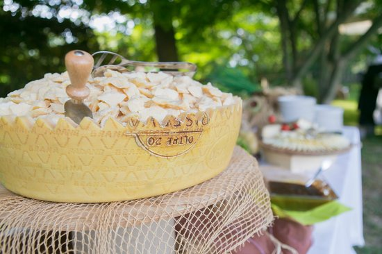 Parco Le Cicogne: formaggi a buffet