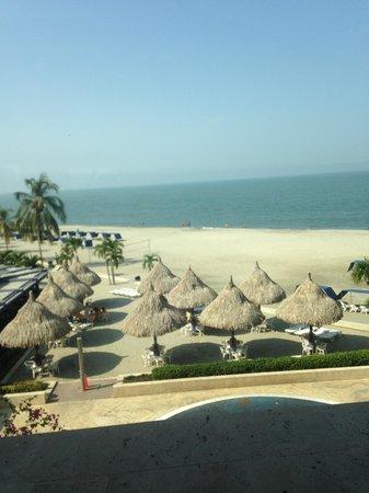 Zuana Beach Resort : Vista  de la playa