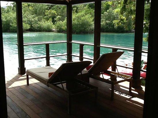 GoldenEye: your covered deck..... enjoy....