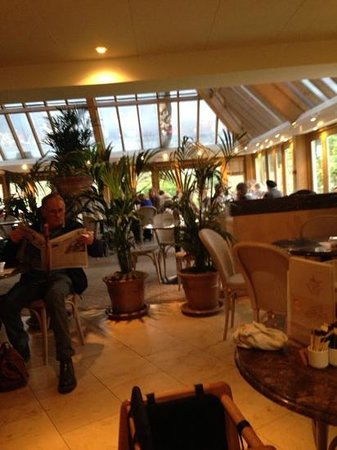 Bettys Cafe Tea Rooms - Harlow Carr: two separate areas