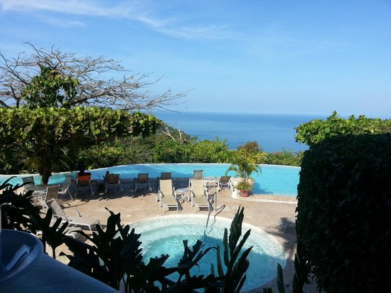 La Mariposa Hotel: View from the pool