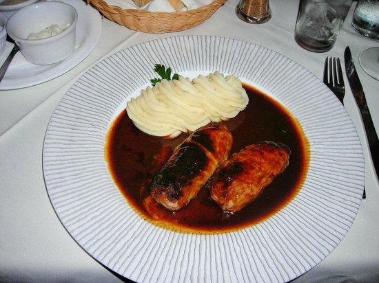 La Pergola: Stuffed Cabbage Rolls