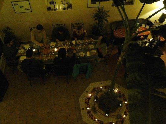 Marhbabikoum: dîner vu du 1er étage