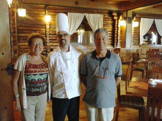 Termas Puyehue Wellness & Spa Resort: despedida con Antoni