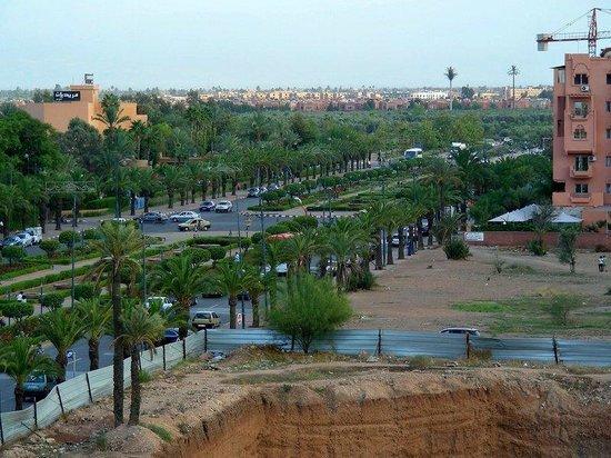 Hotel Atlas Asni: Street view