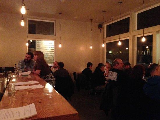 Blackbird Restaurant: The dinning room