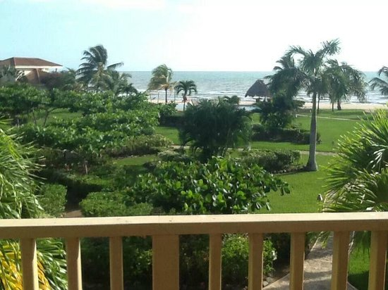 Hopkins Bay Resort: View from front porch