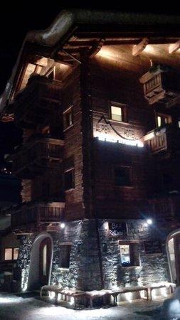 Alpen Hotel Chalet: 1st impression