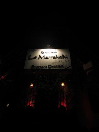 Le Marrakchi: Ingresso