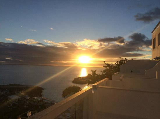 Marina Bayview: Vacker solnedgång