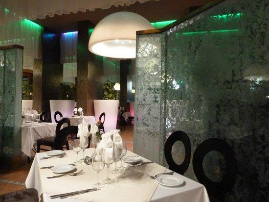 Hotel Les Jardins de l'Agdal: salle du buffet