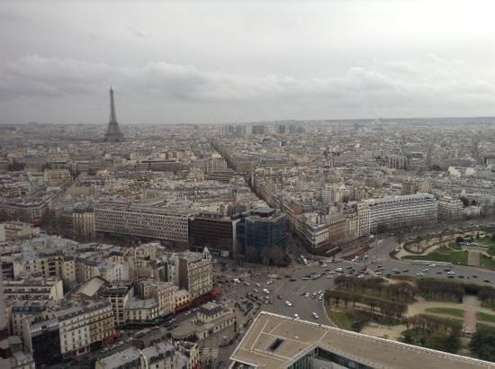 Hyatt Regency Paris Étoile : View from Executive Suite