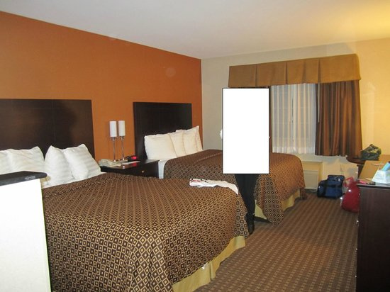 BEST WESTERN Concord Inn & Suites: room with 2 queen beds