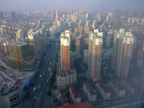 Renaissance Shanghai Zhongshan Park Hotel: view from 37th floor room