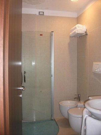 Quality Hotel Delfino Venezia Mestre: Baño