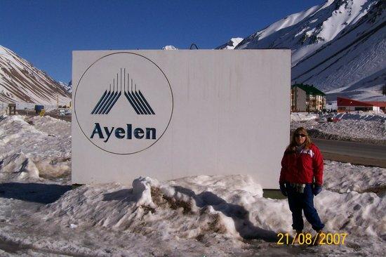 Ayelen Hotel de Montana: Entrada
