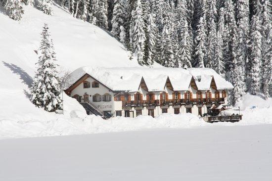 QUINZ Locanda Al Lago: snowy misurina