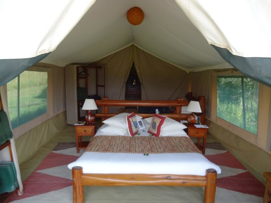 Kicheche Mara Camp : Now this is a tent!