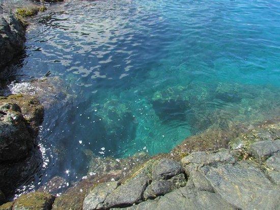 Tuko Beach Resort: Klares Wasser