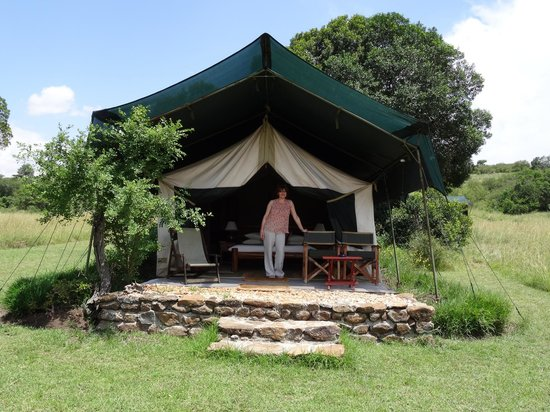 Kicheche Mara Camp: Cant really call this a tent can you?
