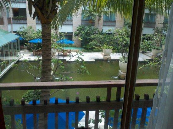 Novotel Jakarta Mangga Dua Square: View from the room window